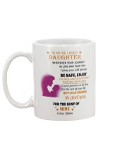 TO BE LOVED DAUGHTER FROM MOM  Mug back