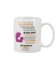 TO BE LOVED DAUGHTER FROM MOM  Mug front