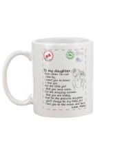 XMAS GIFT TO DAUGHTER FROM MOM 1 Mug back
