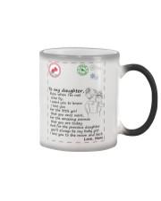 XMAS GIFT TO DAUGHTER FROM MOM 1 Color Changing Mug thumbnail