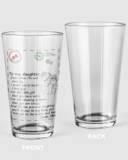 XMAS GIFT TO DAUGHTER FROM MOM 1 16oz Pint Glass thumbnail