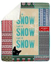 CAT LOVERS 64 Sherpa Fleece Blanket tile