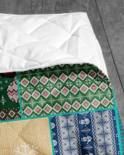 """CAT LOVERS 64 Quilt 40""""x50"""" - Baby aos-quilt-40x50-lifestyle-closeup-front-07"""