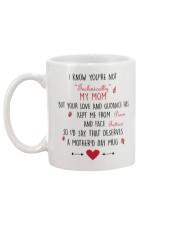 LOVE MY MOM Mug back