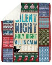 CAT LOVERS 57 Sherpa Fleece Blanket tile