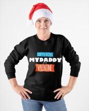 SORRY BOYS MY DAD IS MY VALENTINE  Crewneck Sweatshirt apparel-crewneck-sweatshirt-lifestyle-front-26