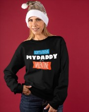 SORRY BOYS MY DAD IS MY VALENTINE  Crewneck Sweatshirt apparel-crewneck-sweatshirt-lifestyle-front-27