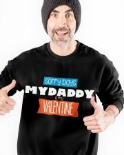 SORRY BOYS MY DAD IS MY VALENTINE  Crewneck Sweatshirt apparel-crewneck-sweatshirt-lifestyle-front-33
