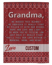 LOVE GRANDMA CUSTOM NAME Comforter tile