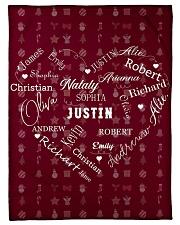 CUSTOM FAMILY NAME - XMAS 2020 -1 Fleece Blanket tile