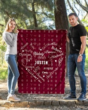 """CUSTOM FAMILY NAME - XMAS 2020 -1 Quilt 40""""x50"""" - Baby aos-quilt-40x50-lifestyle-front-03"""