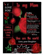 TO MY MOM CUSTOM NAME Comforter tile