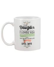 XMAS GIFT TO AMAZING DAUGHTER   Mug back
