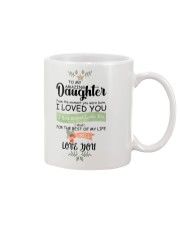 XMAS GIFT TO AMAZING DAUGHTER   Mug front