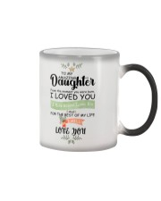 XMAS GIFT TO AMAZING DAUGHTER   Color Changing Mug tile
