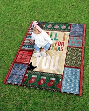 """CAT LOVERS 59 Quilt 40""""x50"""" - Baby aos-quilt-40x50-lifestyle-front-09"""