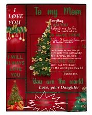 TO MY MOM CUSTOM NAME CHRISTMAS Comforter tile
