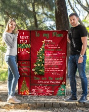 """TO MY MOM CUSTOM NAME CHRISTMAS Quilt 40""""x50"""" - Baby aos-quilt-40x50-lifestyle-front-03"""