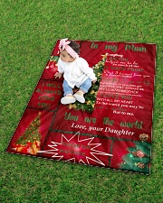 """TO MY MOM CUSTOM NAME CHRISTMAS Quilt 40""""x50"""" - Baby aos-quilt-40x50-lifestyle-front-09"""