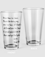 1-01 16oz Pint Glass front