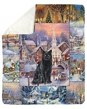 CAT LOVERS 47 Sherpa Fleece Blanket tile