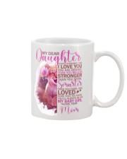 MY DEAR DAUGHTER 1 Mug front