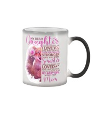 MY DEAR DAUGHTER 1 Color Changing Mug thumbnail