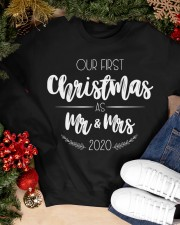 OUR FIRST CHRISTMAS 2020 Crewneck Sweatshirt apparel-crewneck-sweatshirt-lifestyle-front-24