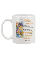 TO MY DAUGHTER FROM MOM 4 Mug back