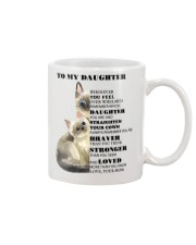 TO MY DAUGHTER FROM MOM 1 Mug front