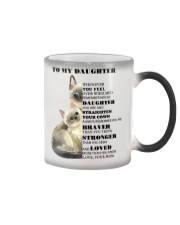 TO MY DAUGHTER FROM MOM 1 Color Changing Mug thumbnail