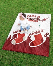 """GIGI'S FAVOURITE CUSTOM NAME Quilt 40""""x50"""" - Baby aos-quilt-40x50-lifestyle-front-09"""