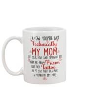 MY MOM Mug back