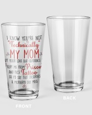 MY MOM 16oz Pint Glass thumbnail