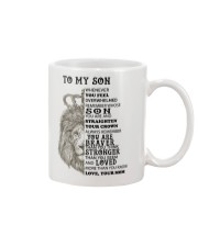 TO MY SON 1 Mug front