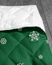 """CUSTOM FAMILY NAME - XMAS 2020 Quilt 40""""x50"""" - Baby aos-quilt-40x50-lifestyle-closeup-front-07"""
