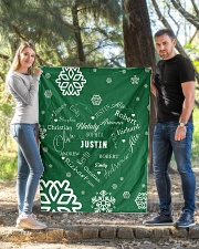 """CUSTOM FAMILY NAME - XMAS 2020 Quilt 40""""x50"""" - Baby aos-quilt-40x50-lifestyle-front-03"""