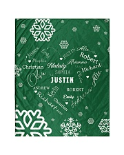 """CUSTOM FAMILY NAME - XMAS 2020 Quilt 40""""x50"""" - Baby front"""