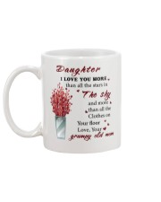 TO DAUGHTER FROM GRUMPY OLD MOM  Mug back