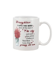 TO DAUGHTER FROM GRUMPY OLD MOM  Mug front