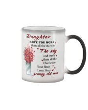 TO DAUGHTER FROM GRUMPY OLD MOM  Color Changing Mug thumbnail