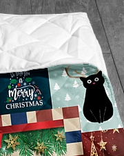 "TO MY SON FROM MOM CAT LOVER Quilt 40""x50"" - Baby aos-quilt-40x50-lifestyle-closeup-front-07"