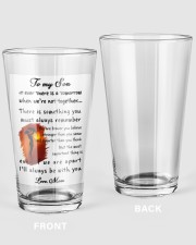 XMAS GIFT TO SON FROM MOM 1 16oz Pint Glass thumbnail
