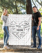 """CUSTOM FAMILY NAME - XMAS 2020 -2 Quilt 40""""x50"""" - Baby aos-quilt-40x50-lifestyle-front-03"""