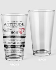 22-01 16oz Pint Glass front
