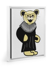 CAT LOVERS STICKER 4 11x14 White Floating Framed Canvas Prints thumbnail