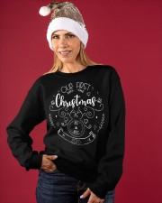 OUR FIRST CHRISTMAS 2020 Crewneck Sweatshirt apparel-crewneck-sweatshirt-lifestyle-front-27