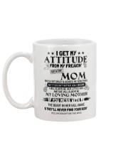 I GET MY ATTITUDE 1 Mug back