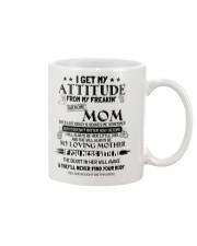 I GET MY ATTITUDE 1 Mug front