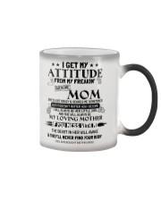 I GET MY ATTITUDE 1 Color Changing Mug thumbnail